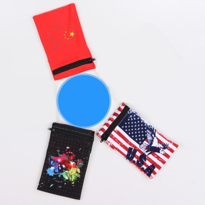 Bandera Británica Union Jack Reino Unido Gran Moneda De Tarjeta Cartera Larga con Cremallera