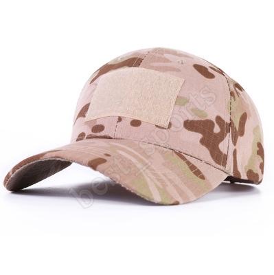 Unisexe Snapback Camouflage Tactique Chapeau Patch Arm/ée Tactique Casquette de Baseball Jungle D/ésert Camo Chasse Chapeaux pour Hommes