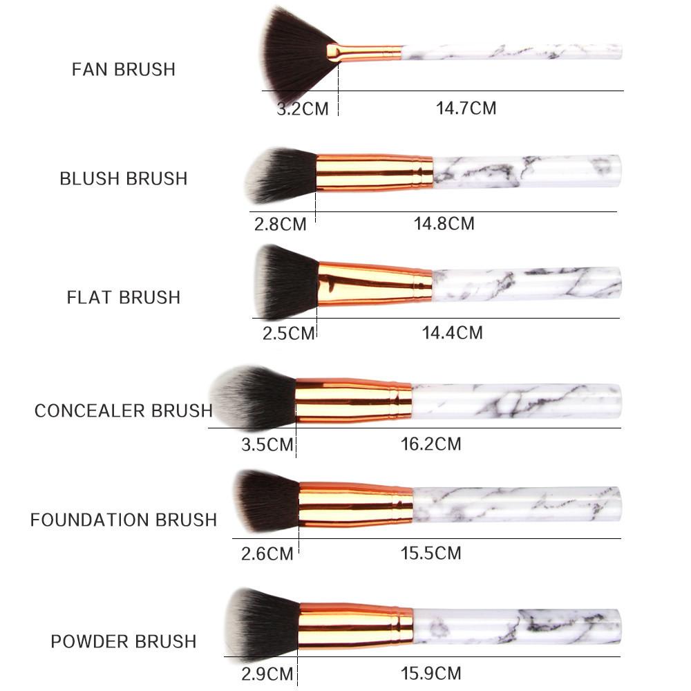 Makeup Brush Set +1 Cosmetic Barrel Bag Professional Face Eye Shadow Eyeliner Foundation Blush Lip Makeup Brushes