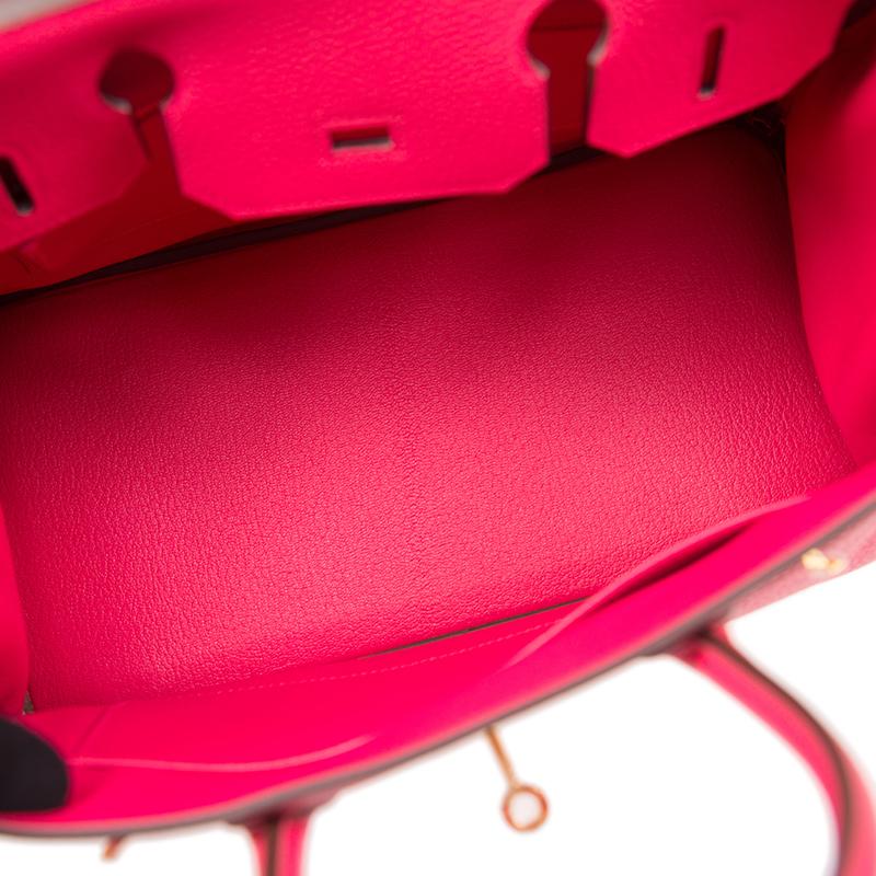 /  handbag BIRKIN 30 I6 pink TOGO gold buckle handbag BK30I6TGGP-BA9906