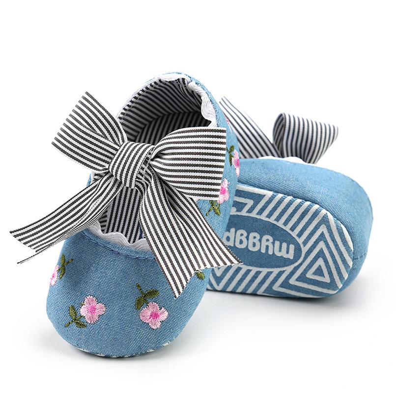 3 Color Baby Girl Shoes Toddler Kids Fashion Embroidery Flower Butterfly-knot First Walkers Kids Shoes NDA84L23 (19)