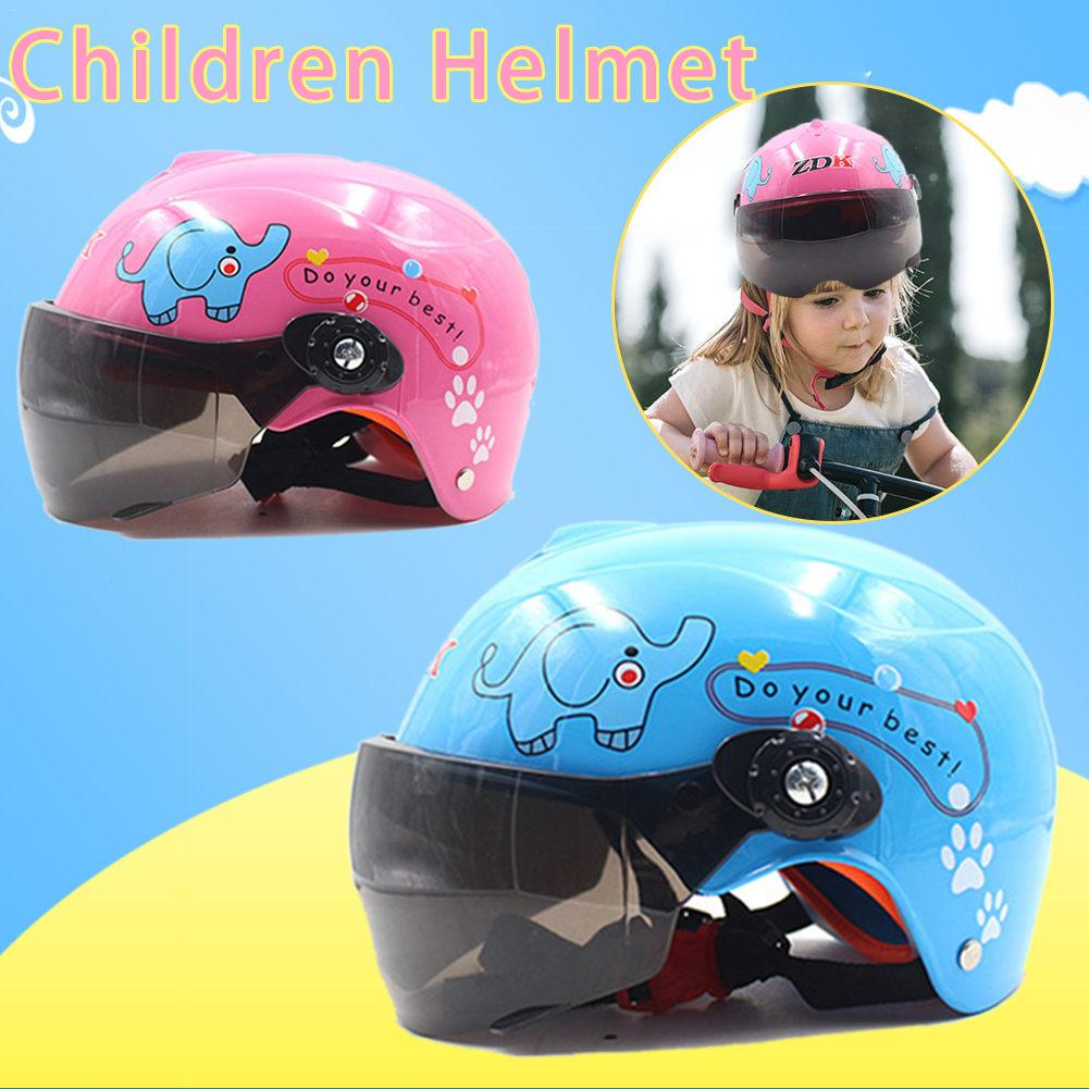 Children/'s Motorcycle Helmet Bike Motor Safety Warm Comfortable For AGE 3-9 Kids