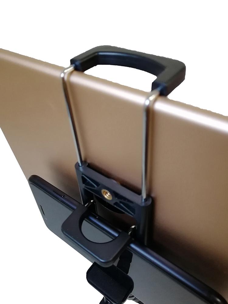Tripod Mount Mobile Phone Clip Holder Tablet Holder Clip