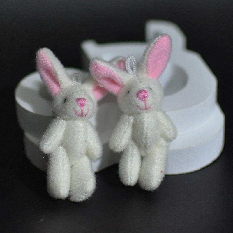 4.5CM Plush Rabbit Bunny 8