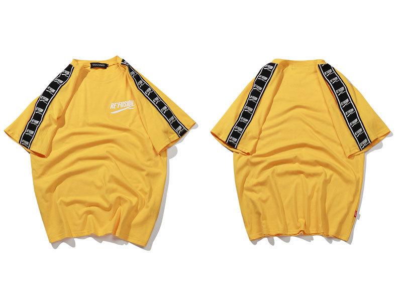 Ribbon Sleeve T-Shirt 5