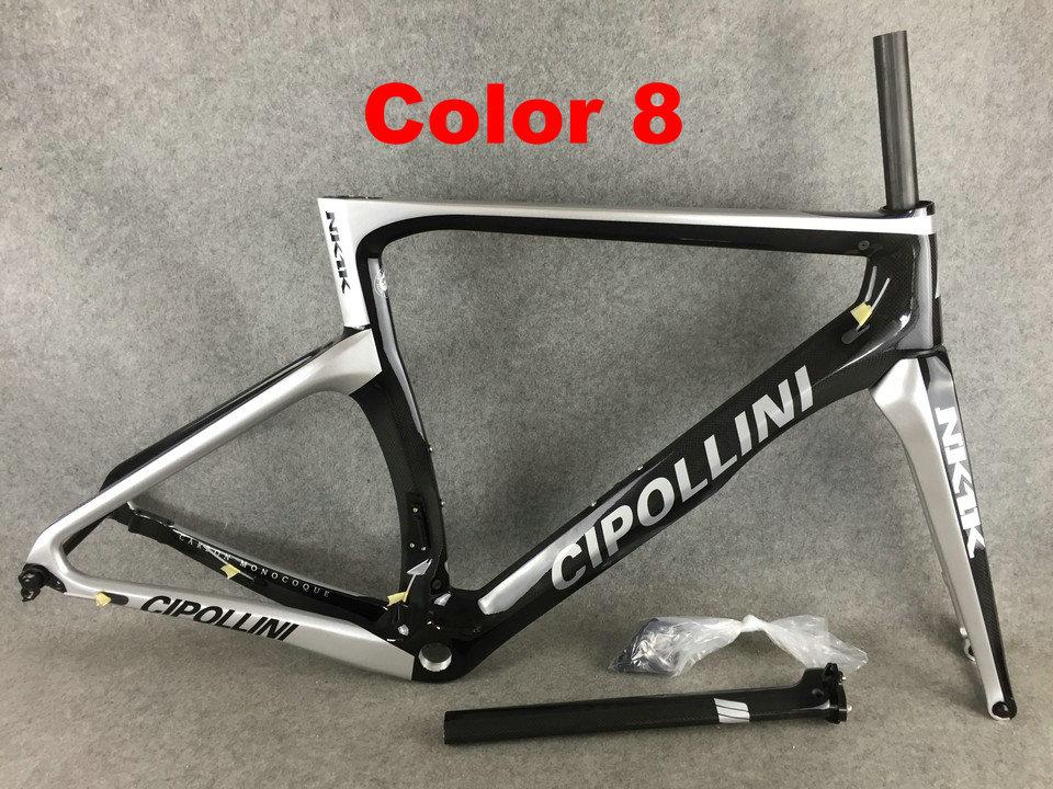 8 Cipollini NK1K 3K Di2 Carbon Bike Frame