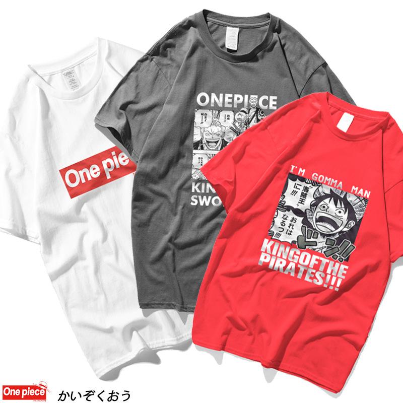 Nakama Friends One Piece Manga Japanese Anime Funny Men/'s T Shirt Cotton Shirts