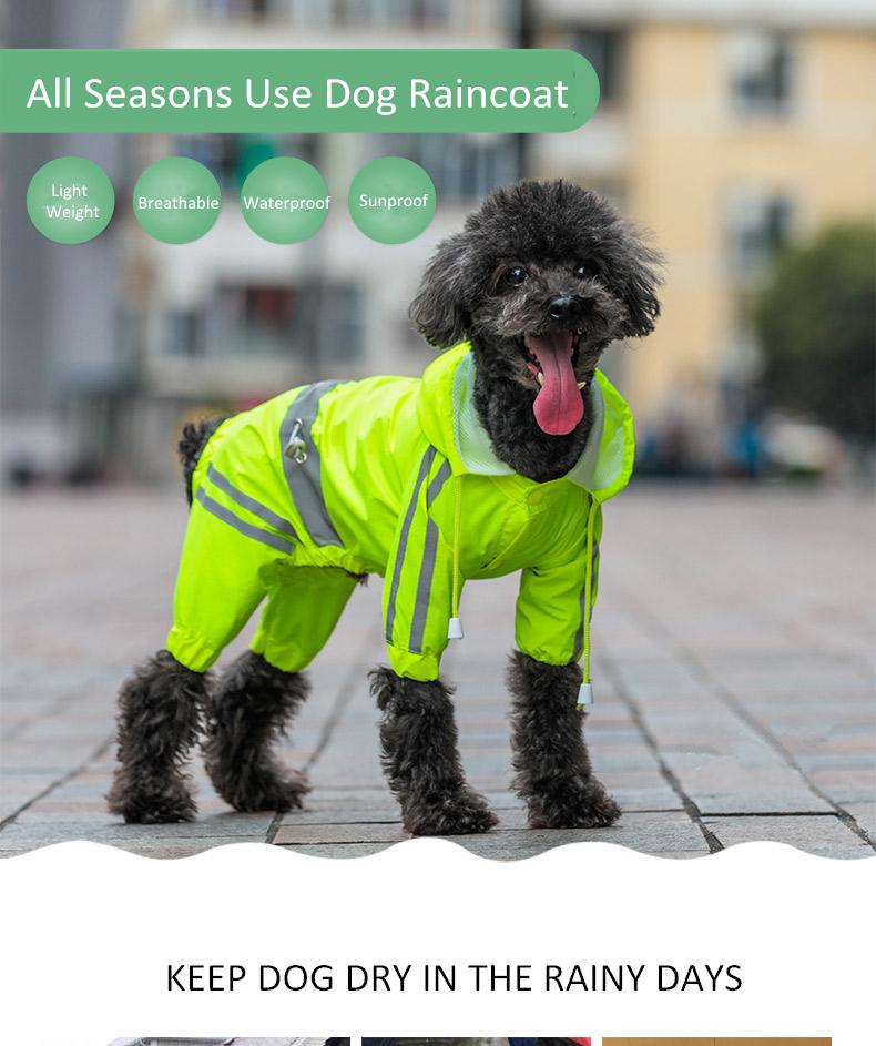 Dog Rain Coat (2)