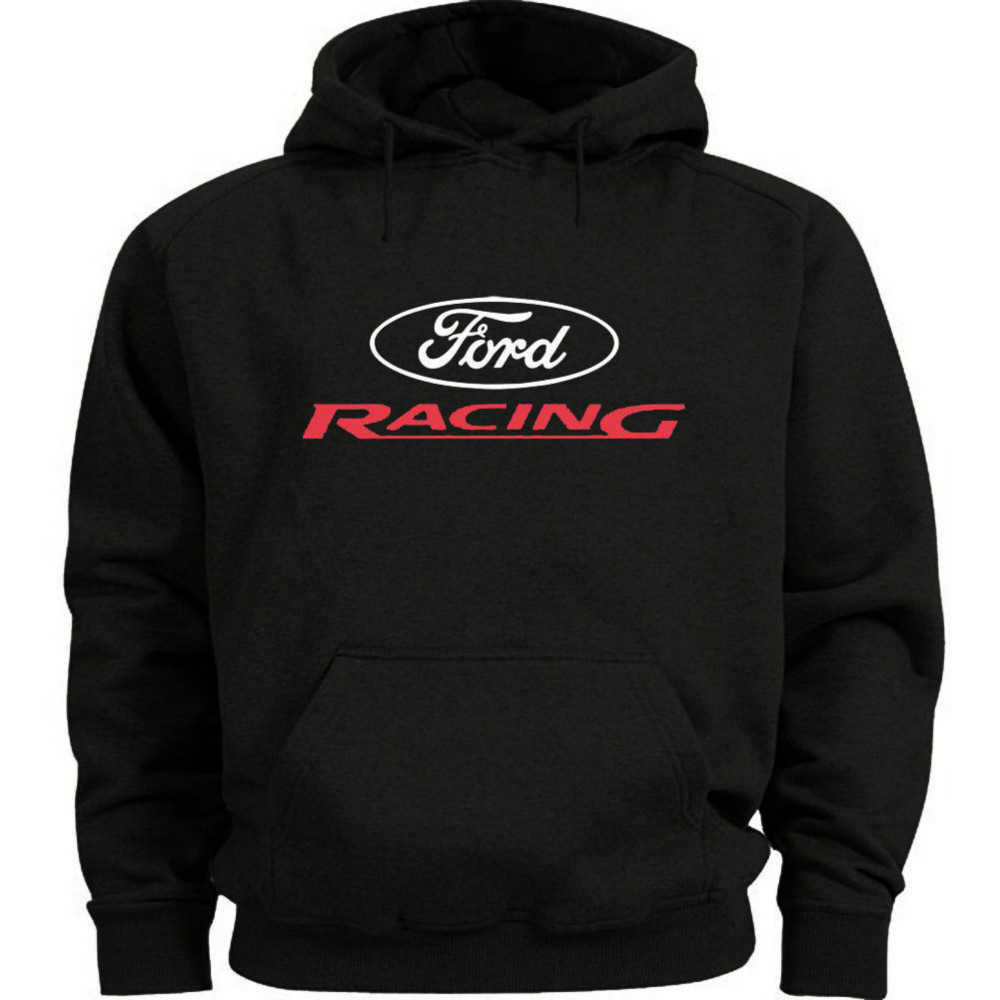 Ford Racing Hoodie Sweatshirt Ford Mustang Mopar Gifts Gear Clothing for Men