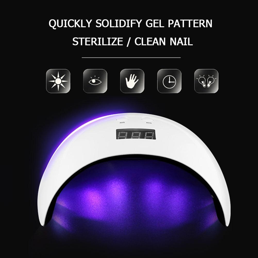 Profesyonel Tırnak Makinesi Fototerapi LED UV Işık Lambası Çivi Jel Lehçe Kurutucu