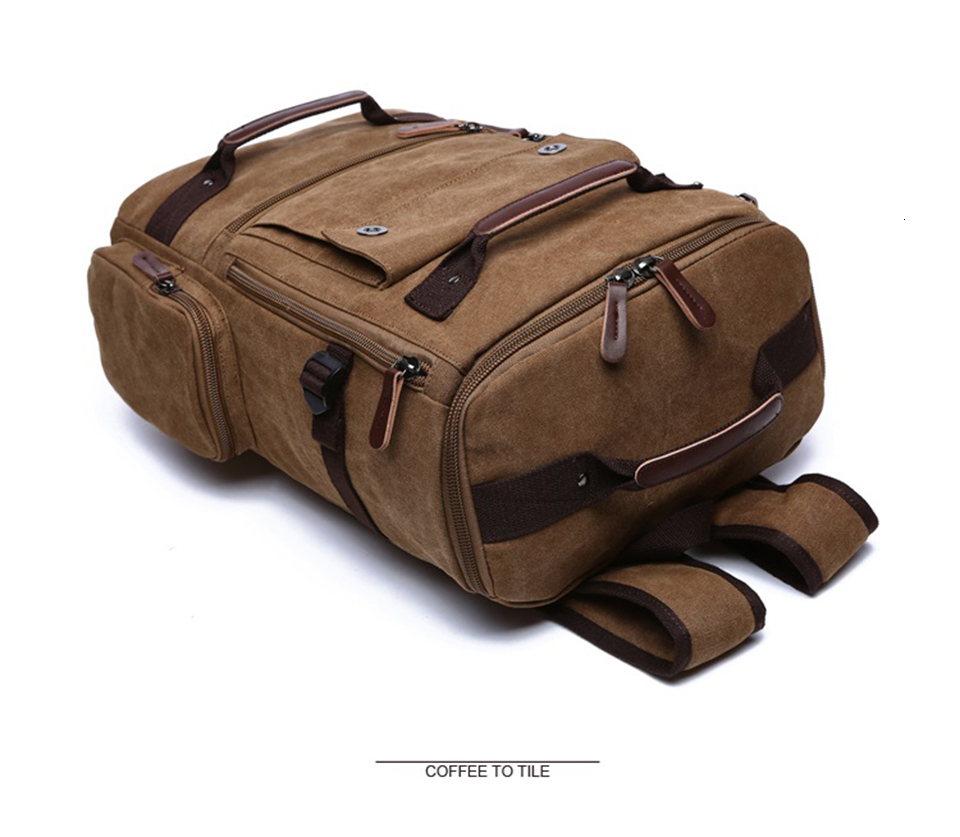 7 Canvas Backpack 15.6