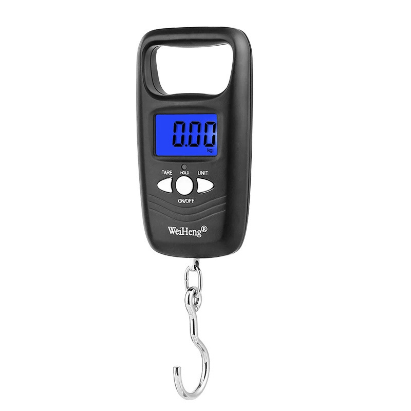 Protable Electronic Hanging Scale For A Suitcase Luggage Scale Handled Travel Bag Mini Pocket Digital Scale Lcd With Backlight