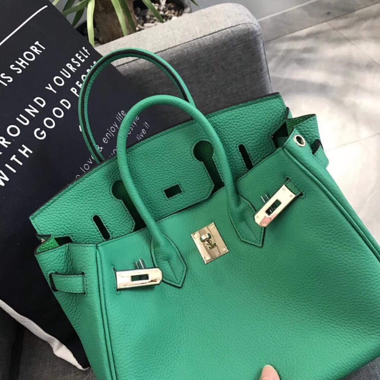 Luxurious2019 Head Green Bamboo Layer Cowhide Litchi Grain Single Shoulder Woman Package Handbag European Chao Edition
