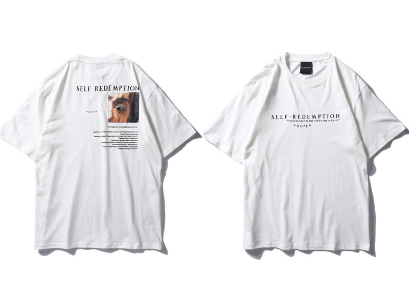 Self Redemption Patchwork Printed T-Shirt 3