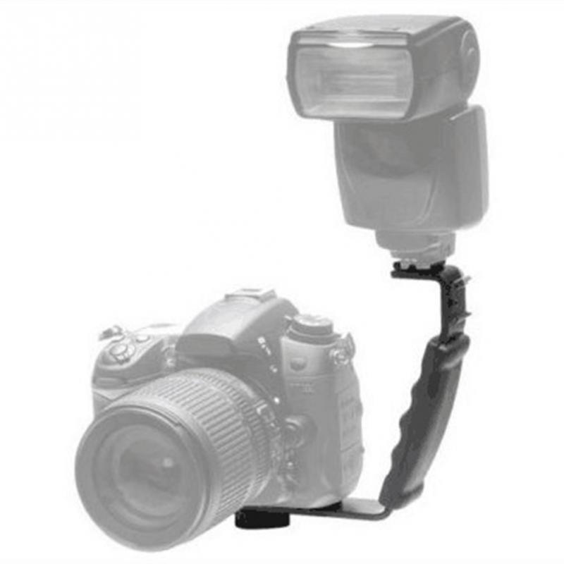 Hot Shoe support de sabot double support pour cam/éra DV lumi/ère LED Micro SLR