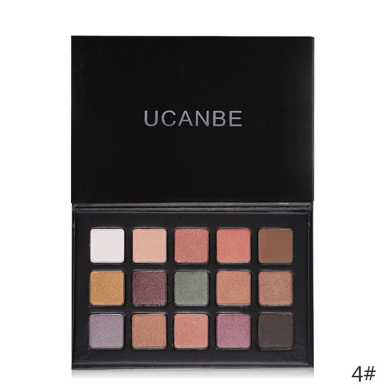 DHL Matte Shimmer Eyeshadow Palette Best Waterproof Radiant Pigment Eye Shadow Nude Makeup Cosmetics Kit Wholesale