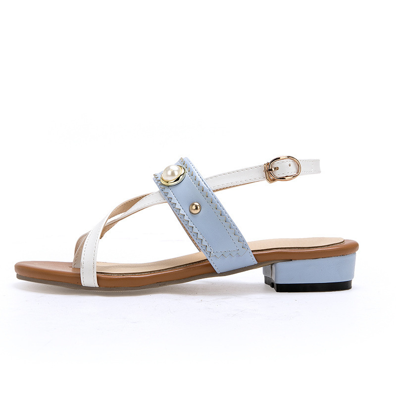 Sexy2019 Toe Rivet Sandals Révéler Avec 40-43 Will M16