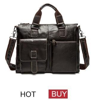 genuine leather bag men bag male (4)