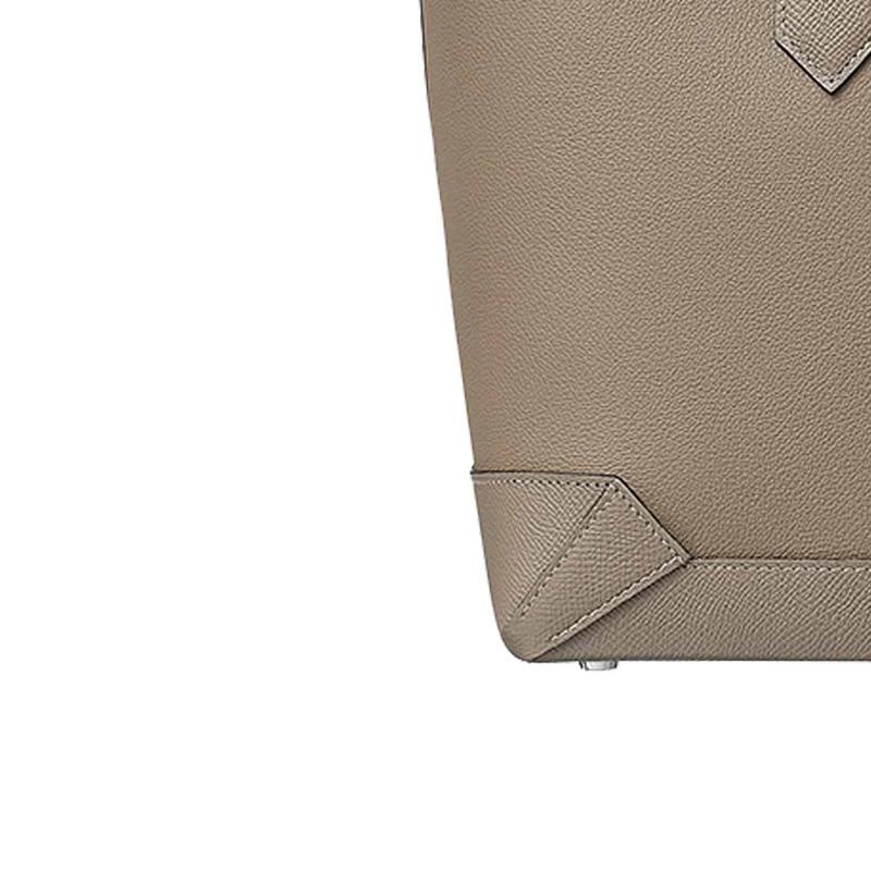 /Mermes Maxibox Cabas 30 Handbag Asphalt Grey H071322CKAL-BA11