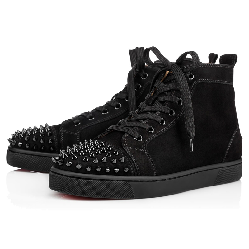 2020 Sneakers Shoes Orlato Flats Hight-Top Red Bottom Spikes Flats Designer Sneakers Men Women Casual Shoes With Box Dust Bag