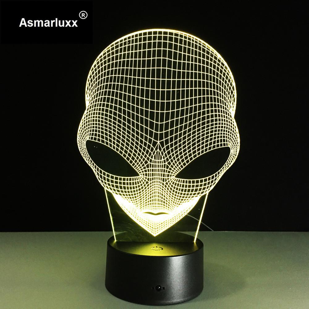 Asmarluxx 3d led lamp9015