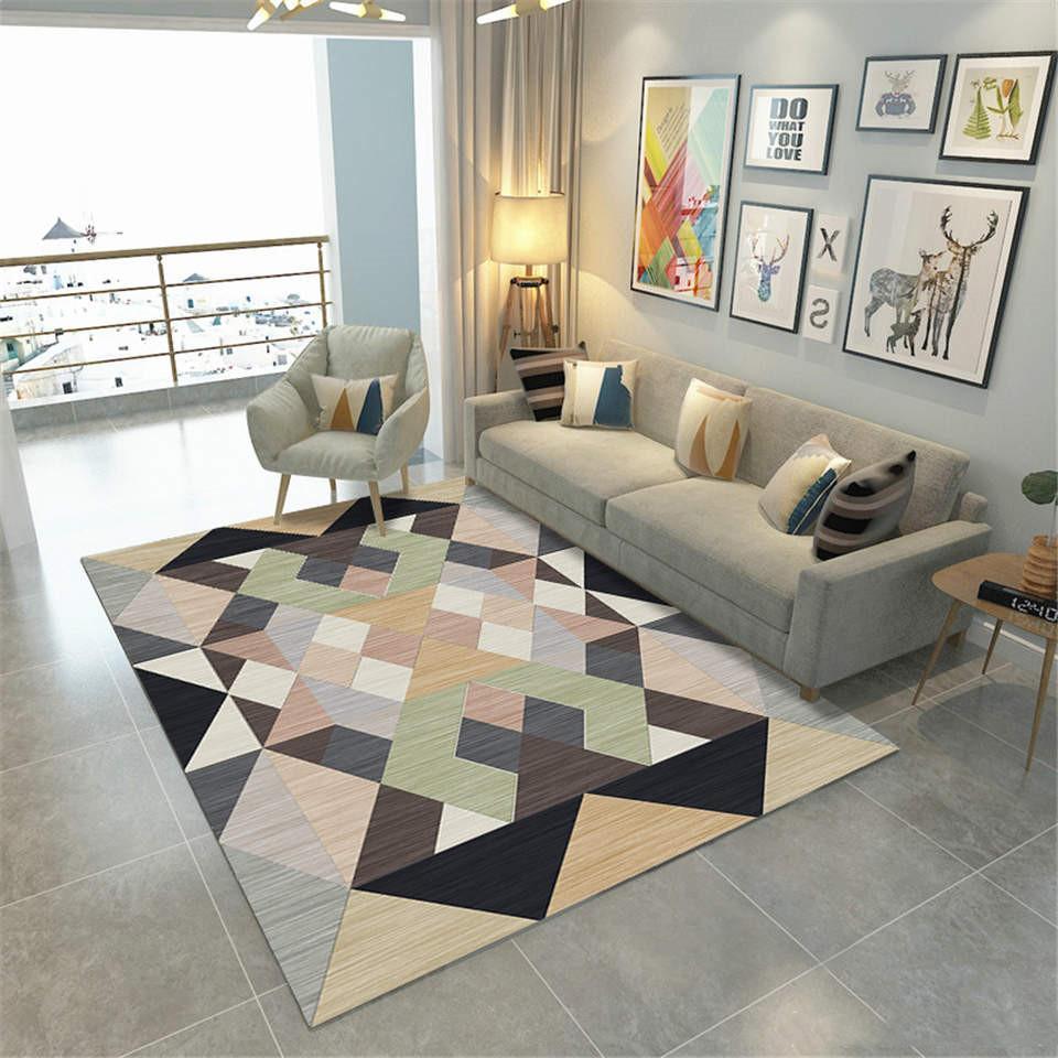 Tappeti Grandi Da Esterno 22modern tappeti nordico per grande pattern room living color geometrica  big rugs carpet in poliestere morbido velluto tessuto mat ingresso