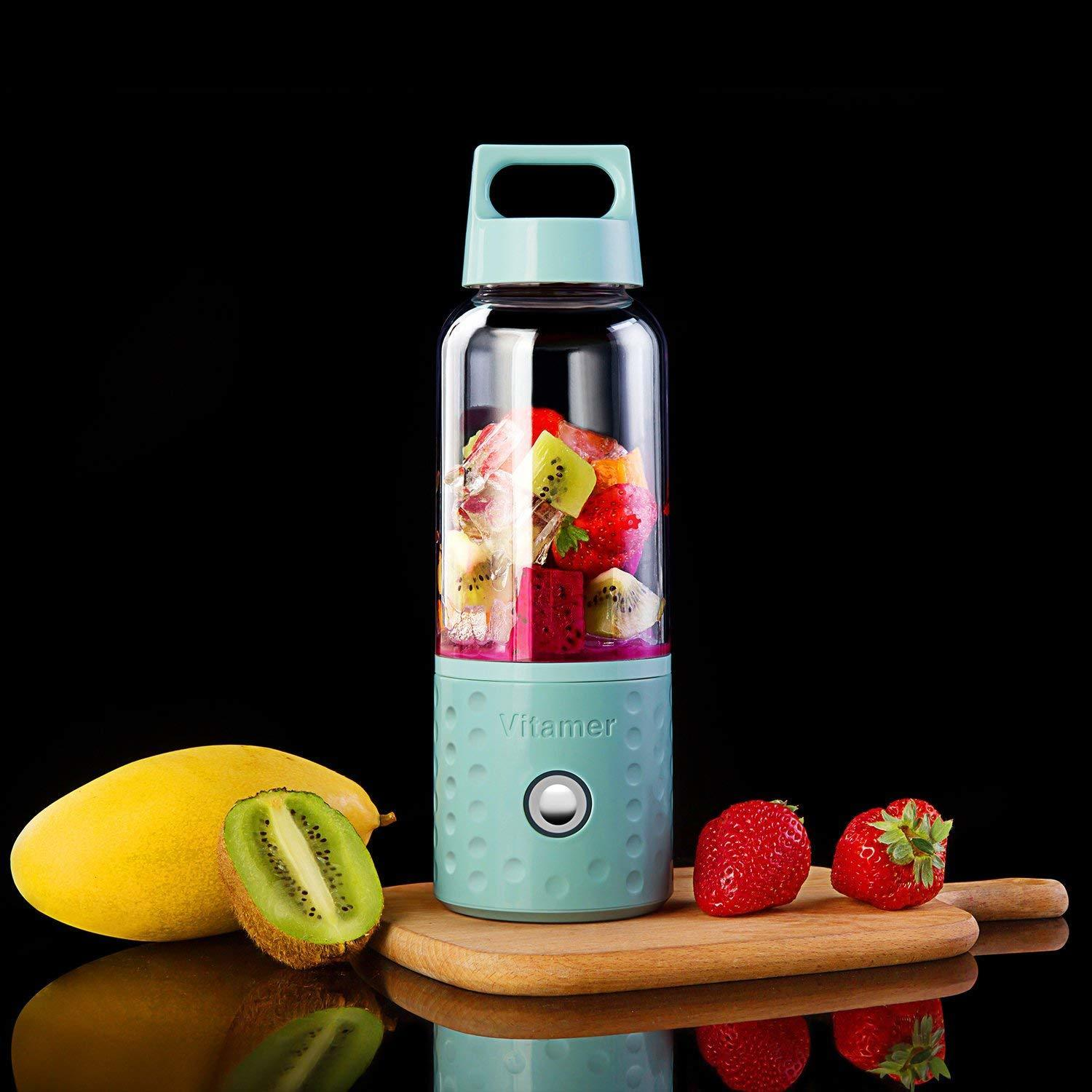 Top Sale Portable Blender, Powerful Smoothie Blender , 17oz Fruit Mixing Machine With Usb Rechargeable Batteries, Drop Shipping C19041803
