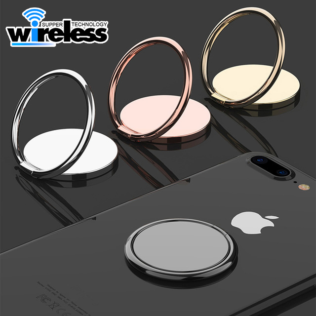 360 Degree Finger Stand Cell Phone Ring Holder Car Mount with Hook for Smartphone-Rose Gold Marble and Princess Crown