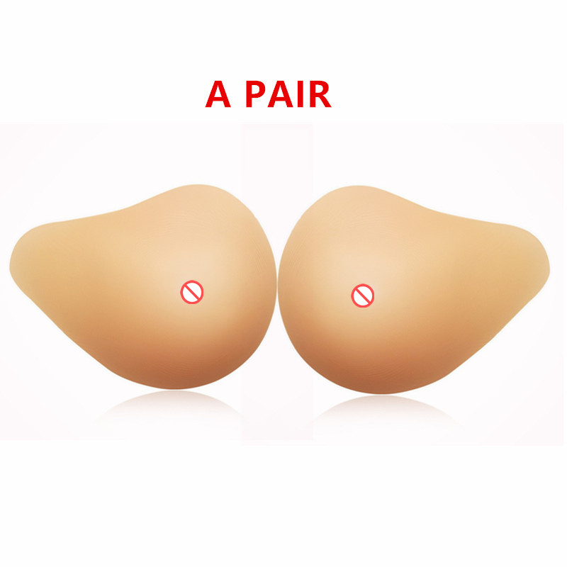 Falso Petto Artificiale Forme del Seno in Silicone Realistico Protesi per chirurgia del Cancro al Seno Donna Mastectomia Petto Femminile miglioramento 1 Pezzo