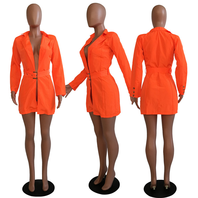 High Quality Ladies Long Jackets Coat Outerwear Cardigan Casual Club Wear Custom Trench Plus Size Fall Blazer Women Jacket