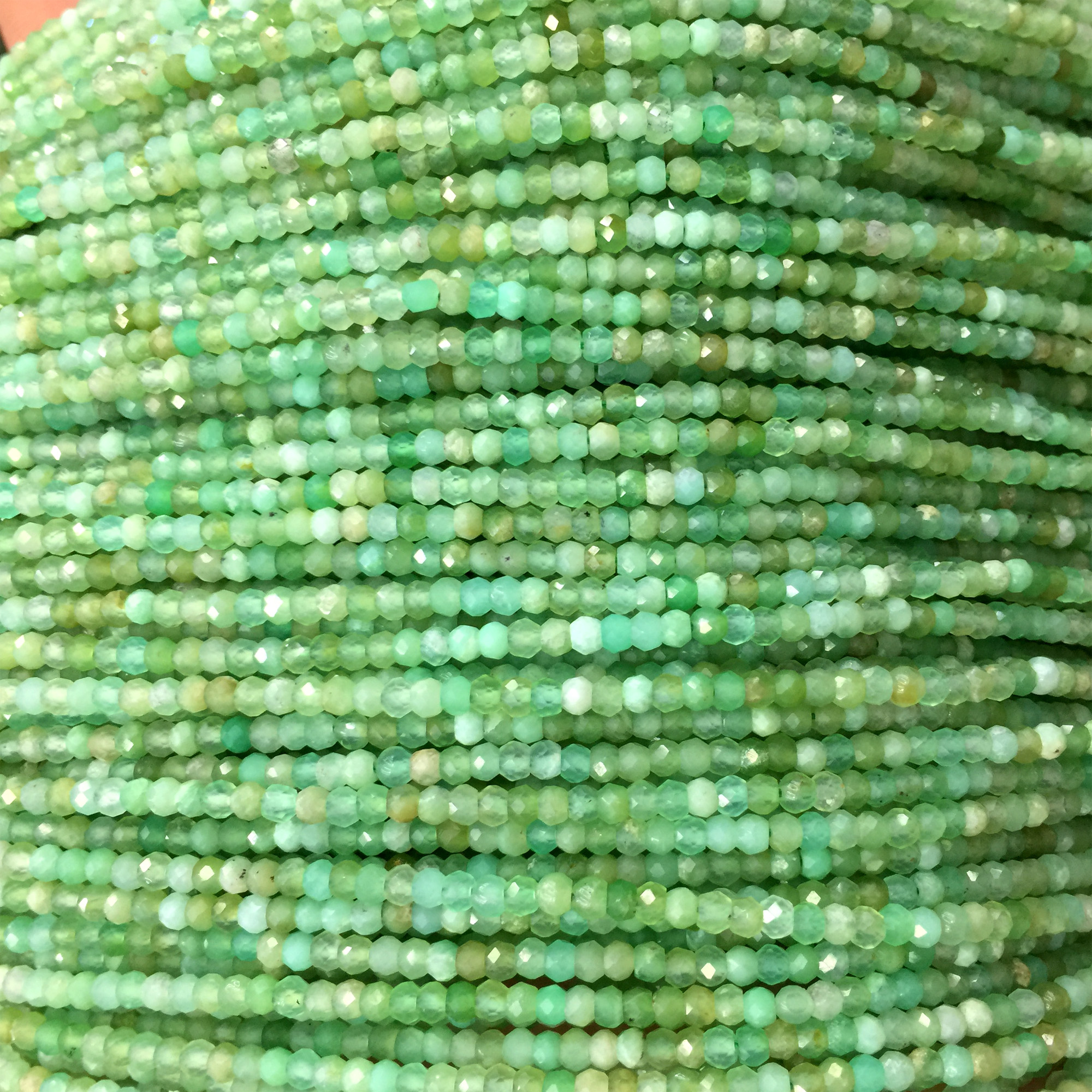Natural 5x8mm Faceted Rose Jade Gems Abacus Loose Bead 15/'/'