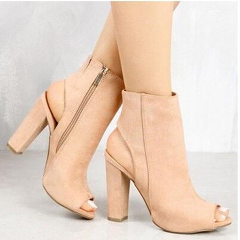 Fancy Black Line Buckle Style Block Heels Dress Sandals Fashion Open Toe Chunky Heel Platform Sandals Women Fashion Dress Shoes