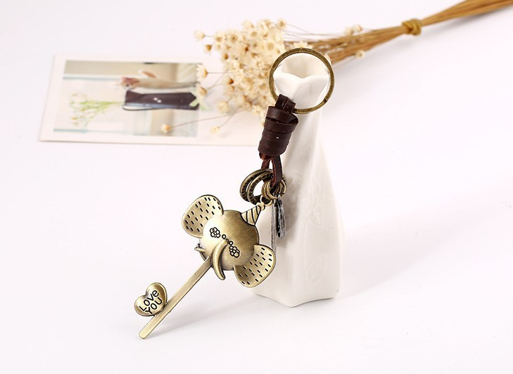 Alloy Long-nosed Elephant Designer Birthday Gifts Key Chain Fashion Creative Key Ring Designer Car Keychains Accessories Valentine's Gifts