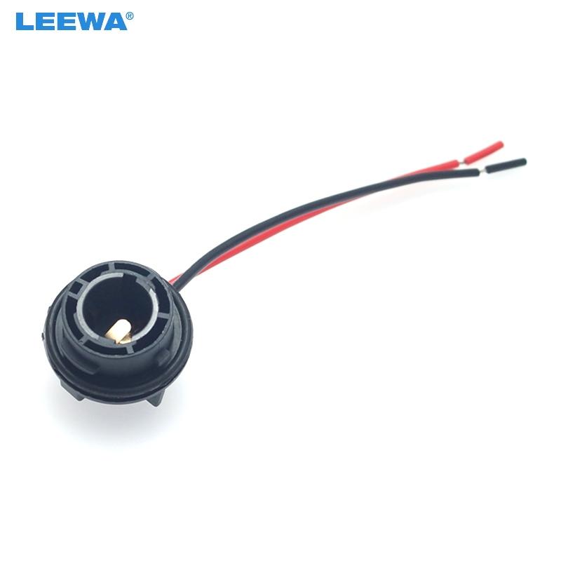 SENZEAL 2pcs 7443 portalampada per lampadine T20 auto SMD Adattatore per presa luce