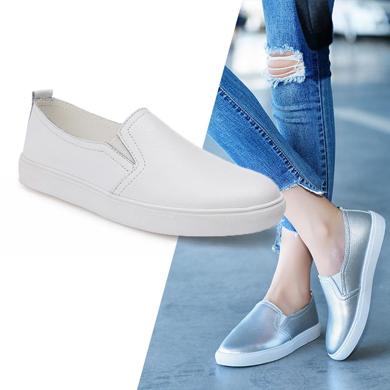 Womens Sport White Skidproof Nursing Shoes Hospital Footwear Work Shoes Oxfords