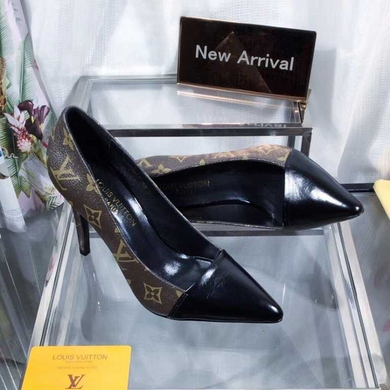 women's elegant dress shoes Spring And Summer New Fashion High Heels Single Shoes For Women Genuine Leather beautiful shoes