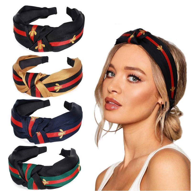 Mode Damen Breit Krempigen Stirnband Yoga Sport Haarreif Haarband Haarschmuck