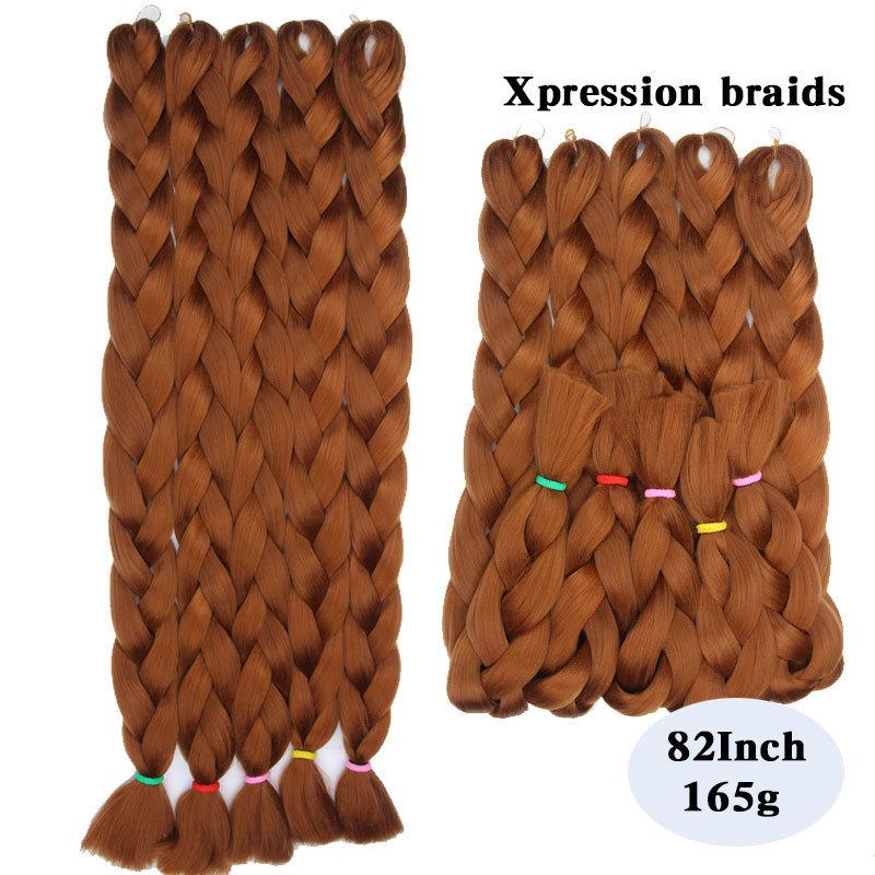 Synthetic-Kanekalon-Braiding-HairKanekalon-Jumbo-Braid-Bulk-Kanekalon-African-Braiding-Hair-style10