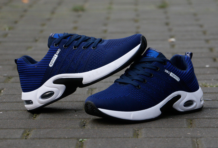 China Factory Fashion Low Price Durable Lace-up Non-slip Mens Sports Running Shoes And Sneakers