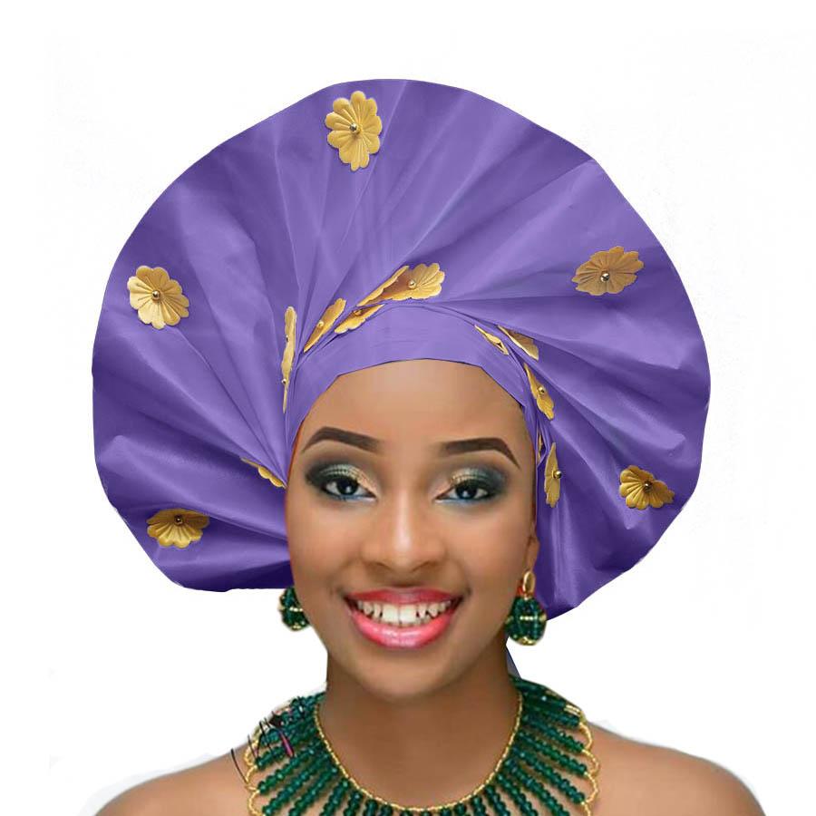 2018 african headtie wraps aso oke gele nigerian headwear asobi headdress african turban (2)