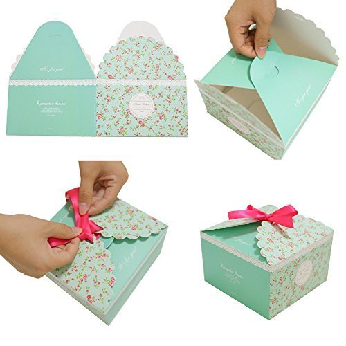 Gift Boxes Decorative Treats Boxes Cookies Goodies Candy Christmas Birthdays Holidays Weddings Jewelry Packaging Display