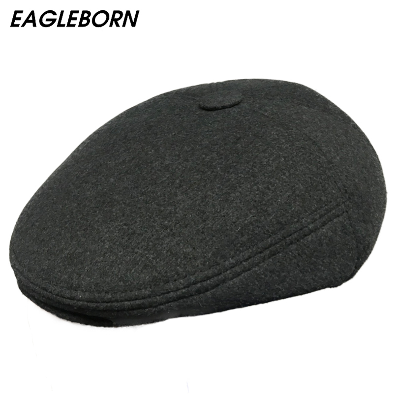 Pure Wool Beret,French Style Classic Solid Color Wool Beret Fashion Leisure Beret Painter Cap Wool hat Hat Unisex