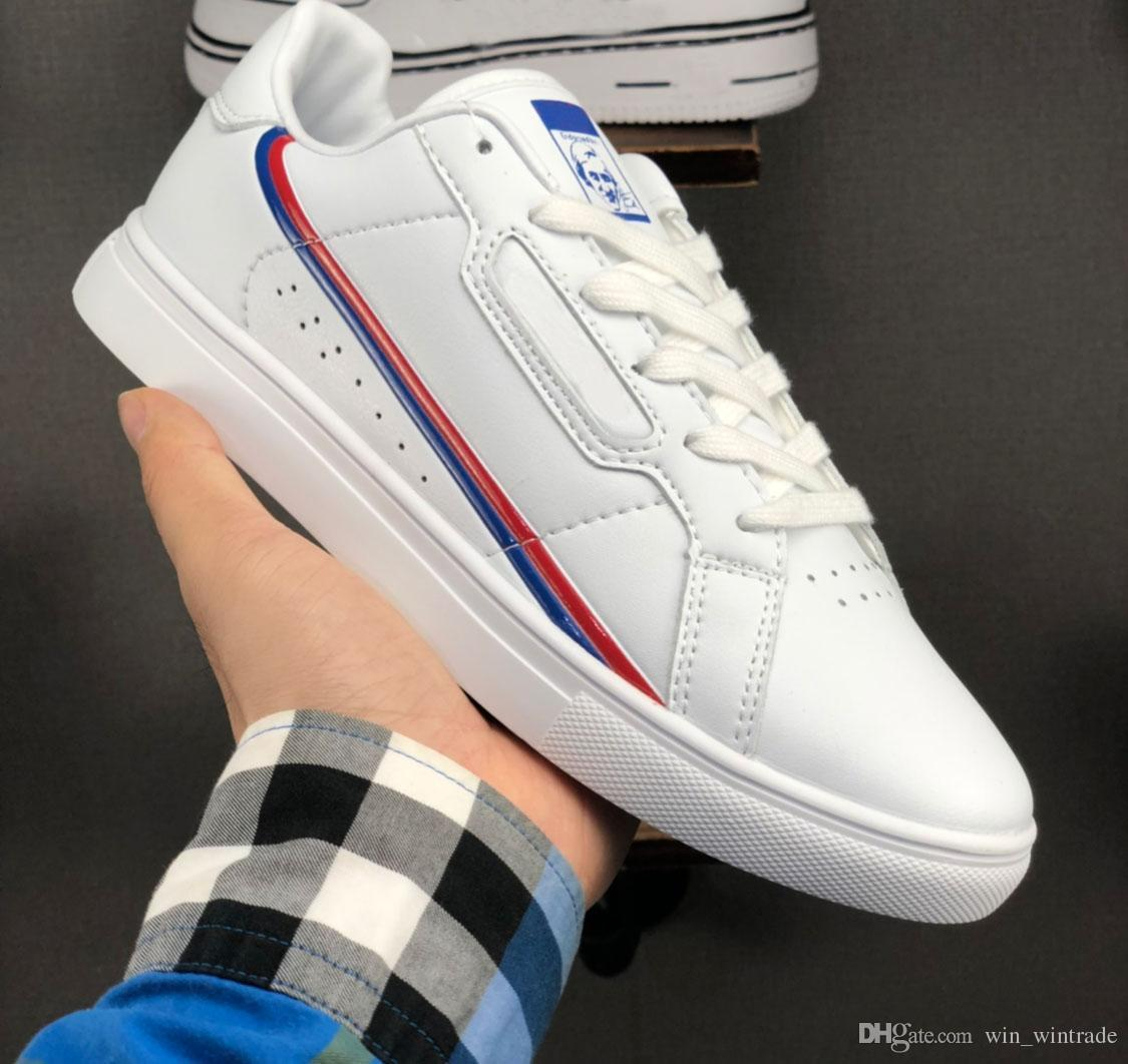 new style 2b914 cc62c 2019 Men Women Continental 80 Casual Shoes Calabasas Powerphase Kanye West  Aero Core OG Trainer Flat Superstars Stan Smith Sports Sneakers 36 45 From  ...
