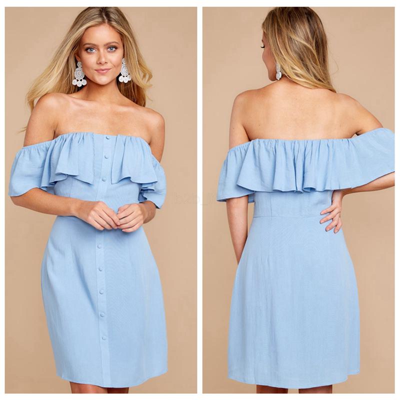 UK Womens Boho Off Shoulder Lace Maxi Dress Summer Holiday Beach Bardot Dress