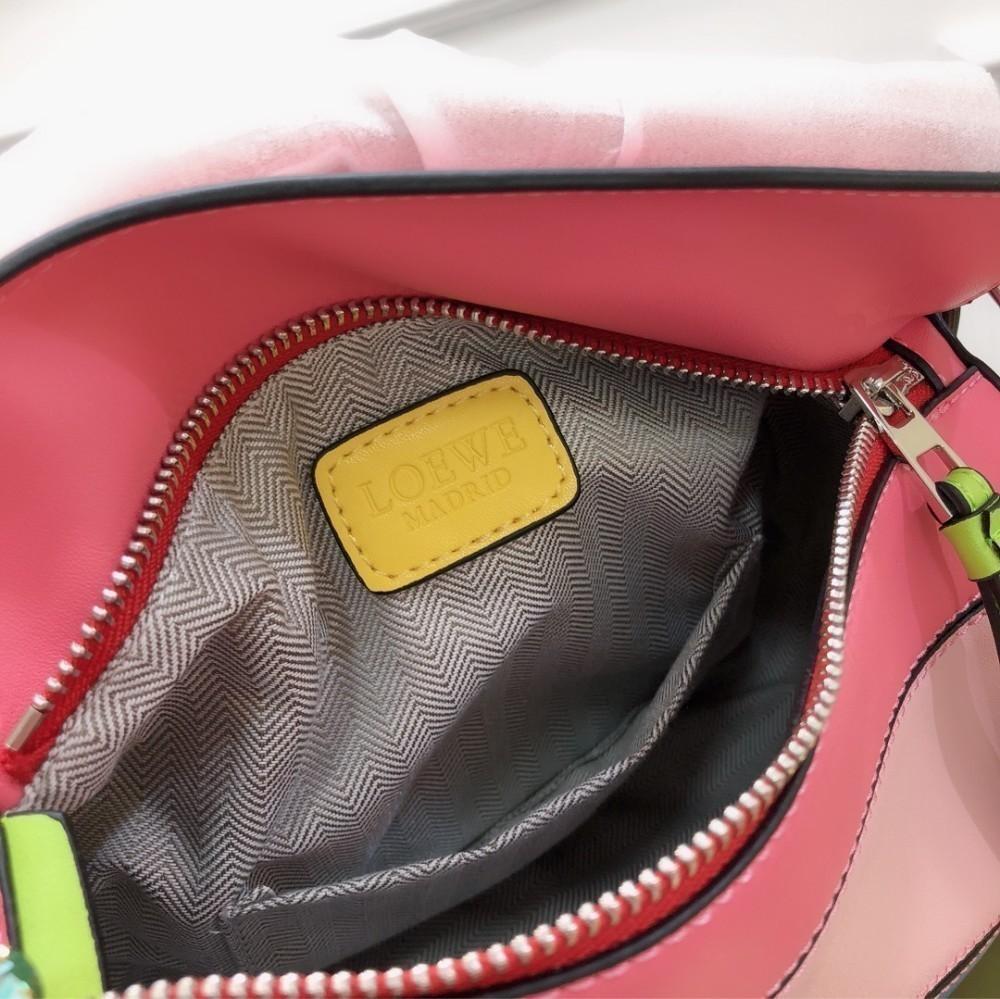 Lo 2019 Hot Lady сумка через плечо Цвет с геометрическим рисунком Дизайнерская модная сумка класса люкс 24 * 16 * 12