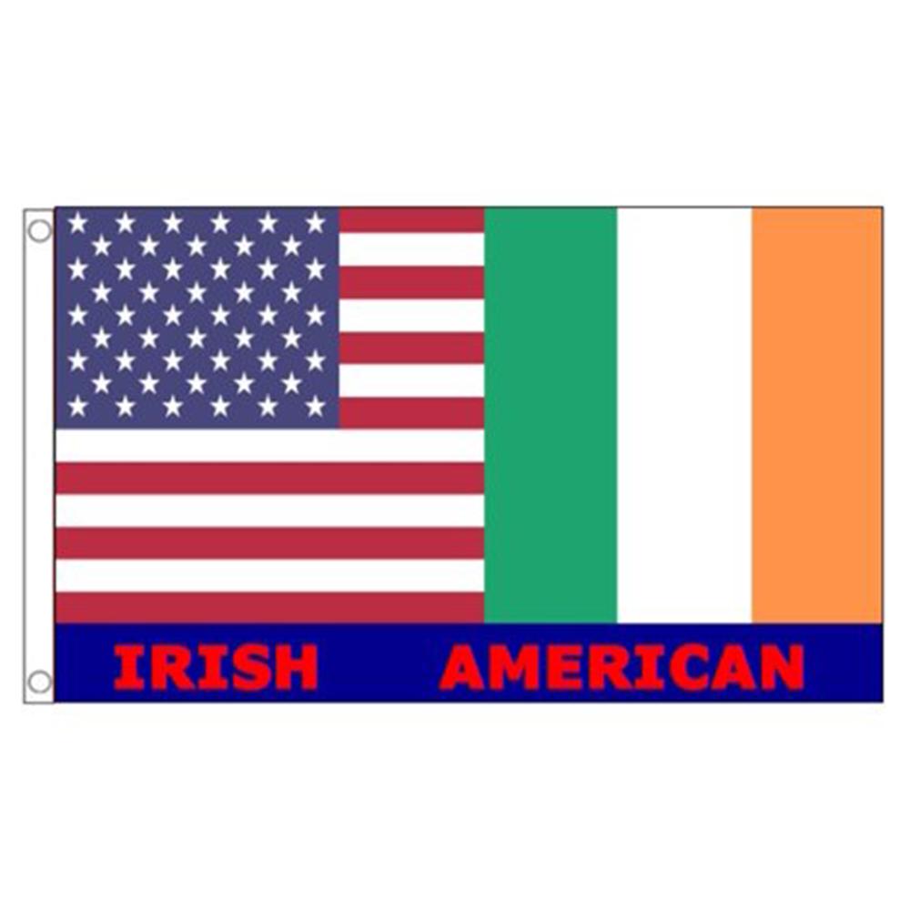 "IRISH IRELAND Hand Wave FLAGS Waving ST PATRICK/'S DAY Festival Party 12 x 8/"""