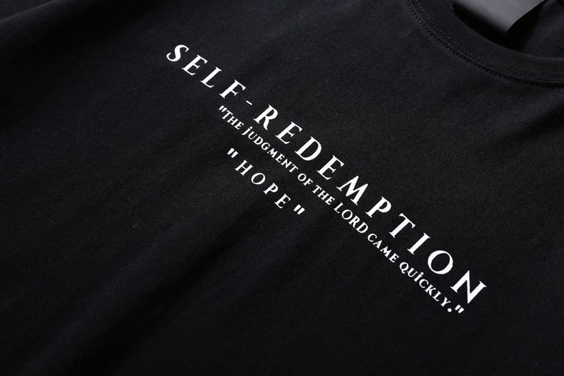 Self Redemption Patchwork Printed T-Shirt 6
