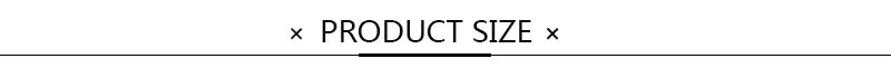 product size