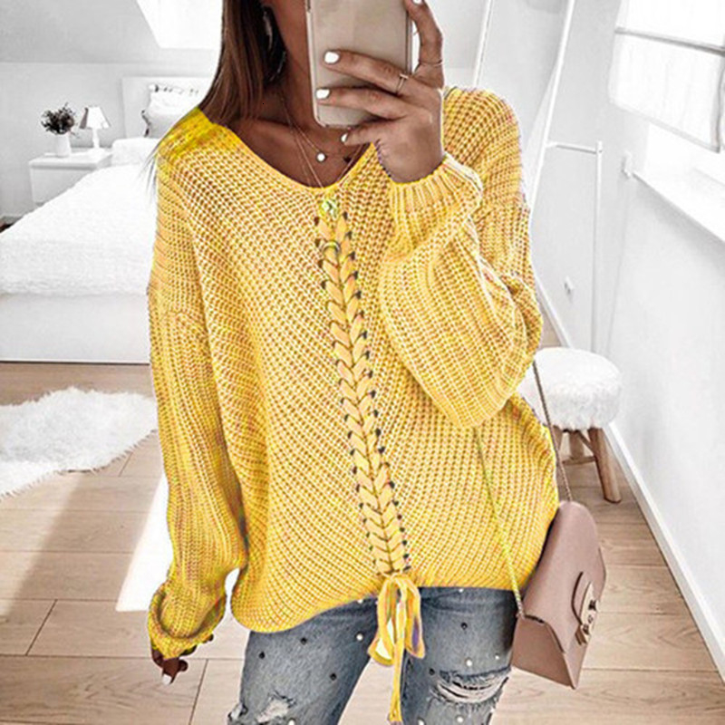 Plus size women pullover sweater spring autumn jumper women tops clothes casual loose fall knitted sweaters ladies 2019 DR897 (7)
