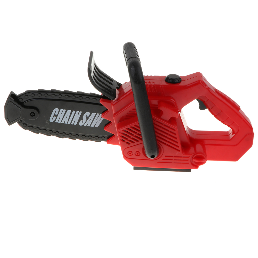 Kids Children\`s Power Construction Tool Electric Chainsaw Toy Set with Real Motor Sound